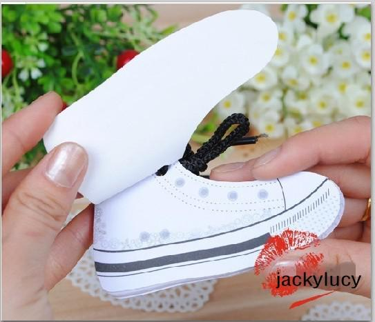 Creative Design Colorful Shoes Shaped Memo Pad Notepad Mini Sticky Note for Office Supplies