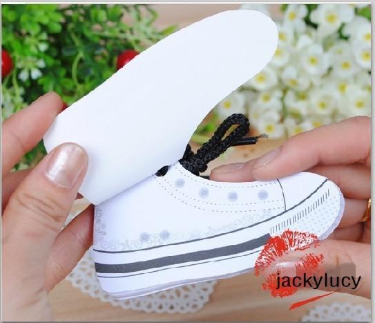 Diseño creativo zapatos coloridos en forma de bloc de notas Bloc de notas Mini nota adhesiva para suministros de oficina envío gratis
