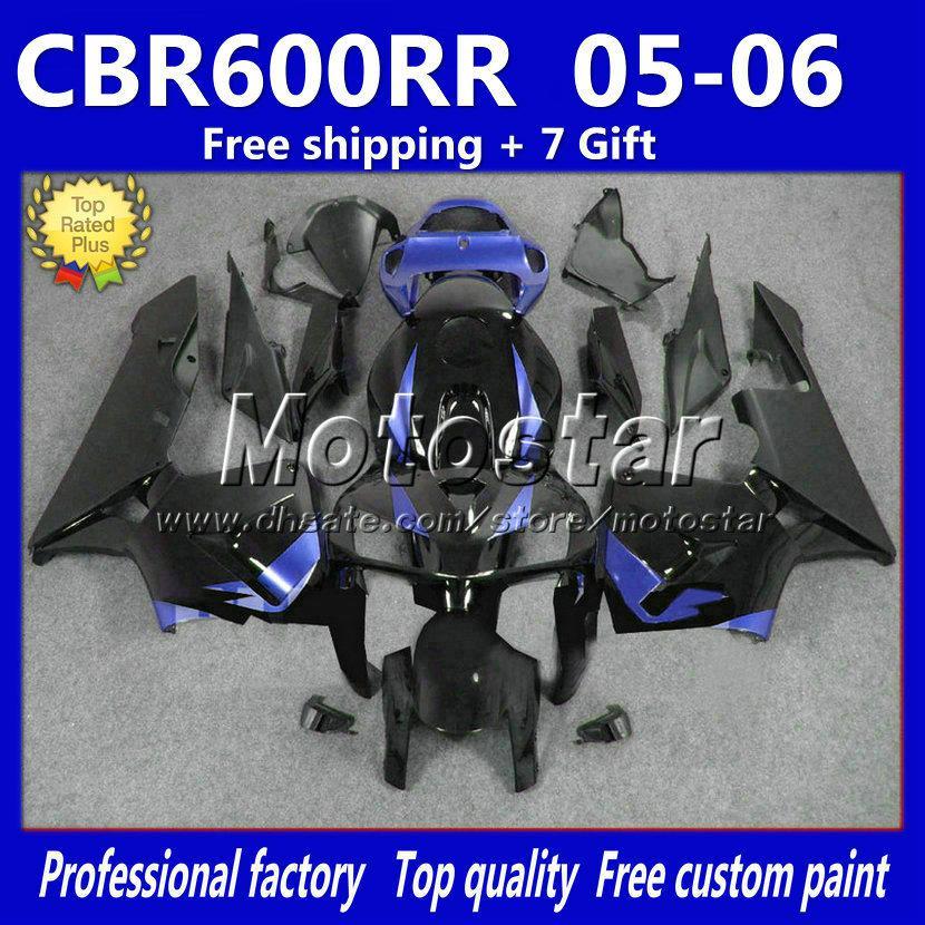 Custom motorcycle fairings kit for HONDA CBR600RR F5 2005 2006 CBR 600 RR 05 06 injection molding road racing fairing bodykits M9