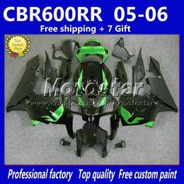 $enCountryForm.capitalKeyWord Canada - High quality green black full fairing kit for HONDA injection molding 2005 2006 CBR600 RR F5 abs fairings set CBR600RR 05 06