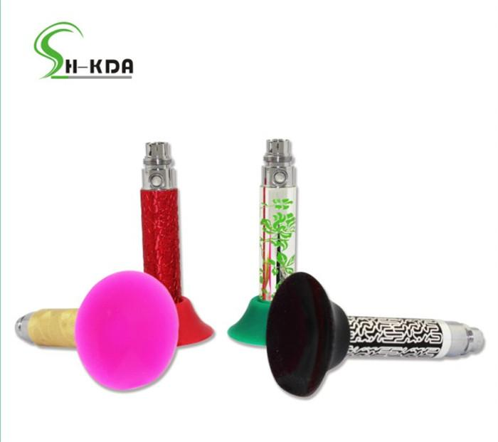 Colorful eGo Holder EGO Battery Silicone Sucker Silicone Base for electronic Cigarette or Vape Pen