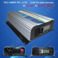 Wholesale 1kw Grid Tie Inverter - grid tie mppt inverters 1000w, grid tie micro inverter 1kw dc 24v 48v to ac 230v 240v 220v, grid-tied inverter