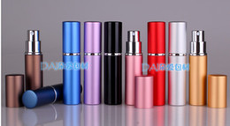 Discount 6ml perfume bottle - 6ML Parfum Empty Bottle Easy Fill Travel Perfume Atomizer Refillable Pump Spray portable Bottle Fragrance & Deodoran