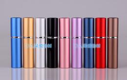 6ml perfume bottle 2019 - 6ML Parfum Empty Bottle Easy Fill Travel Perfume Atomizer Refillable Pump Spray portable Bottle Fragrance & Deodorant co