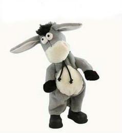 Canada Livraison gratuite, âne pour animal de compagnie électronique, peut danser chanter secoua sa tête âne électrique, âne rock, jouet drôle Offre