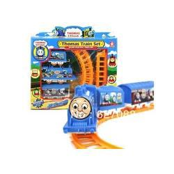 Wholesale - free shipping his friends electric train track electric trains sets rail car GIFT Railway have Rail