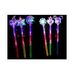 Wholesale - Changing light stick wand sticks Flash magic bar concert wedding toys decoration Glow Atmosphere cheer free shipping