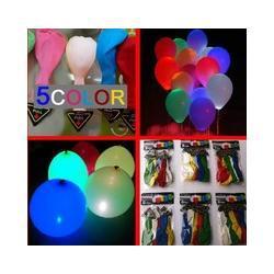 free shipping LED light balloon wholesale balloon flash balloons glow fifth-generation rechargeable luminous helium