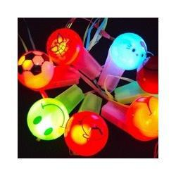 Wholesale Free shipping Halloween /bar supplies/Christmas gift/children s Ablaze shine whistle Race / party