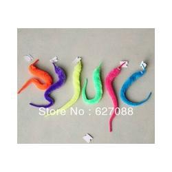 Wholesale free shipping Funny toy Magic worm Twisty worm Wurli worm Magic wiggles 600pcs/lot 6 colors Mixed packi