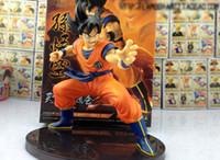 maymun ejderha topu toptan satış-Dragon Ball Z Rakamlar Maymun Kral Goku PVC Action Figure Oyuncak 6
