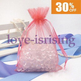 """Free Shipping-100pcs Coral 10cm*15cm (4""""x6"""") Sheer Organza bag Wedding Favor Gift Bag,Organza Pouches from package toilet manufacturers"""