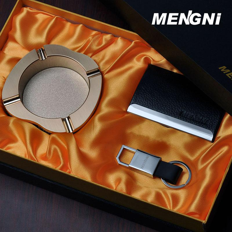 New Keychain / Ashtray / Upscale Business Card Holder Three Piece ...