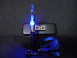 Wholesale Ce4s Kit - Cheapest!! ego eGoT e cigarette kit 650mah 900mah 1100mah, ego-T ecig with CE4 LED clearomizer in zipper bag, OEM ce4s ce6 DCT Protank t2