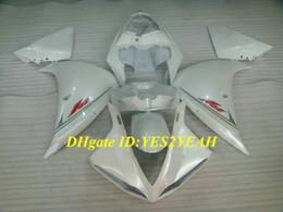 $enCountryForm.capitalKeyWord Canada - Injection mold Fairing kit for YAMAHA YZFR1 09 10 11 12 YZF R1 2009 2012 YZF1000 ABS Cool white Fairings set+Gifts YG02