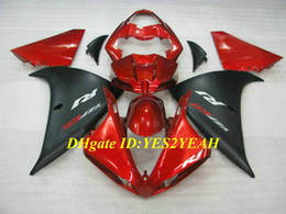 Kit stampo iniezione per YAMAHA YZFR1 09 10 11 12 YZF R1 2009 2012 YZF1000 ABS Rosso nero Set carenature + Regali YG04