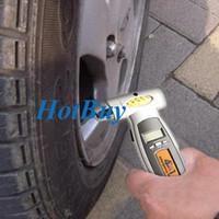 Wholesale tyre tread online - 4in1 Tyre Tread Depth Pressure Measure LCD Display Digital Tire Gauge Reader