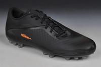 Wholesale Soccer Cleats Venom - Men s Soccer Shoes Wholesale Edition Venom Cleats AG Jnr Boots Sports Shoes Men s American Football Shoes Men s Athletics At Discount Sales