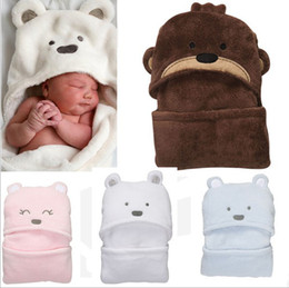Wholesale Blankets For Newborns - Wholesale - minizone Newborn Blankets   Coated   Trolley Warm Sleeping Bag Swaddle for 0-2years old baby to use