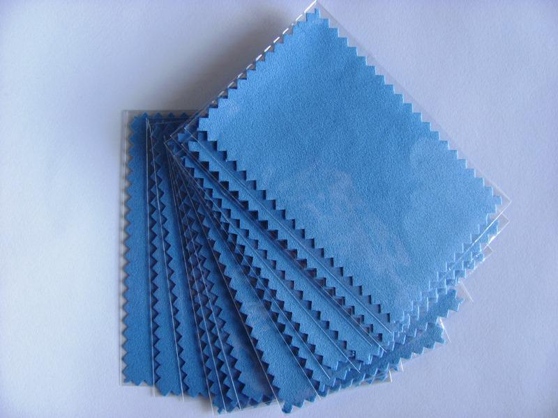 Rosa Negro Azul Verde Nuevo Bolso de Plástico lleno de Paño Polaco de Plata 11 cm x 7 cm para plata Herramienta de limpieza de joyería de Oro Mejor Calidad 100 unids / lote