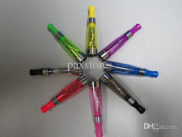 Commercio all'ingrosso - CE4 cartomizer CE atomizzatore CE clearomizer CE serbatoio 1.6mL sigarette elettroniche rotondo bocca atomizzatore con colori assortiti