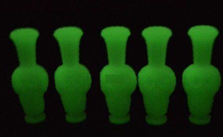 NEW ARRIVAL skull noctilucent/ glow drip tip for 510 vivi nova series mouthpiece drip tips E cigarette