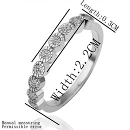 Discount nickel free jewelry settings wholesale - Free shipping 18K New Arrival gold plated ring fashion jewelry ring nickel free stainless steel rhinestone crystal ring 1Piece LP155