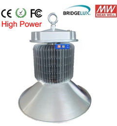 Wholesale Led Highbay Lights - 200w high bay light highbay light led mining light industrial led lighting MEANWELL driver 3years warranty Bridgelux DHL free shipping