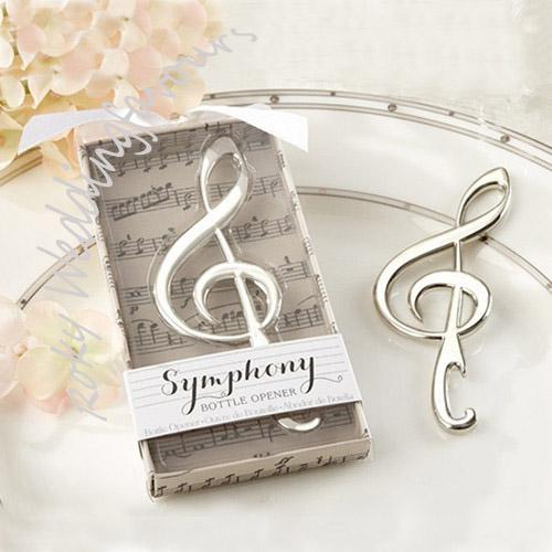 symphony chrome music note bottle opener wedding shower favors bridal shower favors party event gifts birthday party decorations birthday party favor from