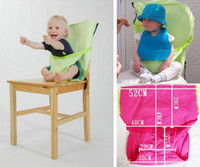 Wholesale Eat Chair Portable - Baby Feeding Baby Eat chair Seat belt Portable Children dining chair belt 9 colors