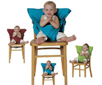 Wholesale Eat Seat - Baby Eat chair Seat belt Portable Children dining chair belt 9 colors