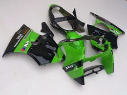 Zx6r Windscreen Australia - Motorcycle Fairing for Kawasaki ZX-6R 636 00-02 ZX6R ZX636 Ninja FAIRINGS KIT with Windscreen