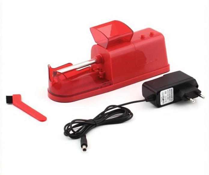 Máquina para hacer cigarrillos eléctrica máquina de hacer inyector automático fabricante de accesorios de bricolaje para fumar fumar envío gratis