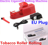 Wholesale free cigarette rolling machines for sale - Group buy New electric cigarette rolling making machine automatic injector DIY maker smoking accessories machine