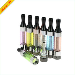 Discount evod vv - FREE SHIP T3S 2.5ml tank Atomizer Clearomizer Changeable Coil Glassomizer protank coil with glass tube fit ego t vv usb