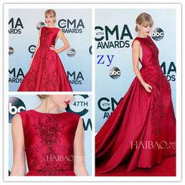 Wholesale Elie Saab Dresses For Sale - 2016 Oscar Red Dress Lace Prom Dresse Elie Saab A-line Elegant plus Size Cheap Celebrity Dresses High Low Dresses For Sale