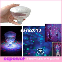 Wholesale Lights For Bath Tub - Underwater Show LED colorful Disco Ball Multi Light Bath Hot Tub SPA Jacuzzi Decoration for the Pool, Party Lights, 1 set
