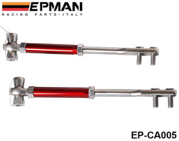Wholesale S13 Control Arms - EPMAN Front Tension Rod Control Arm FOR NISSAN Z32 300ZX 90-96 S13 S14 (Skyline R32 89-94) RED EP-CA005   TK-CA005
