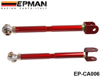 Wholesale S13 Control Arms - EPMAN STAINLESS REAR LOWER TOE CONTROL ARMS BARS For Nissan 240SX s13 Silvia skyline 300zx (Red) EP-CA006   TK-CA006