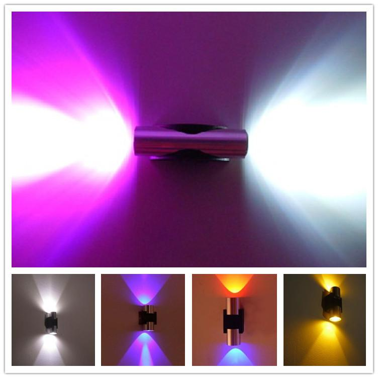 cool led lights for bedroom 2017 1w x 2led ceiling spot light led wall lamp 18559