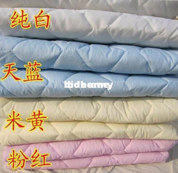 Wholesale Sheet Set Double - Wholesale - Quilting thickening cotton-padded fitted single double simmons mattress bed sets mattress cover bed sheets protective case