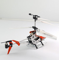 Wholesale 3ch Alloy Rc Helicopter - New 3CH RTF Remote Control Metal Heli Toy---3 Channel Infrared RC Helicopter