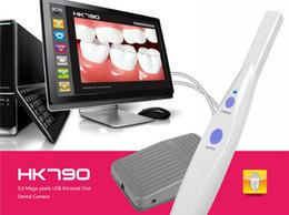 Wholesale Dental Intra Oral - high resolution medical Dental Intraoral Cameras 5.0 Mega pixels USB Sony CCD Intra oral Camera