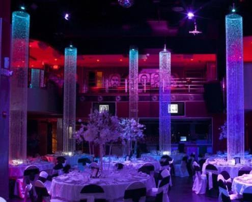 High Quality Crystal String Pillar And Centerpieces For