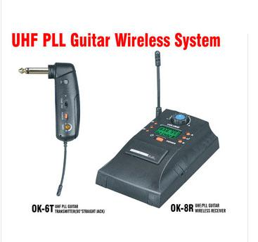 cheap wireless guitar accessories parts ok 6t uhf pll instrument interview wireless system uhf. Black Bedroom Furniture Sets. Home Design Ideas