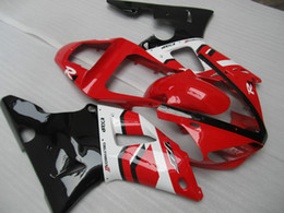 Wholesale Black Yamaha R1 - 7 gifts!!!Injection mold Fairing kit for 2000 2001 YAMAHA YZFR1 YZF R1 YZF-R1 YZR1000 00 01 red white black Fairings set YS66