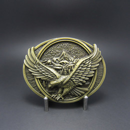 $enCountryForm.capitalKeyWord Canada - Wholesale Retail Belt Buckle Bronze Eagle In Flighting Belt Buckle Free Shipping