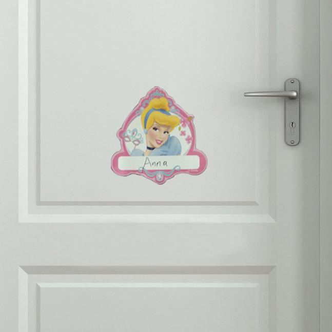 See larger image. Vinyl Door Name Plate Sticker Decals Peel And Stick Door Home