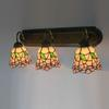 Tiffany Glass Wall Lamps European-style Garden 3 lights Mirror Lamp Corridor Light Bedroom Lamp DIA 65 CM H 23 CM