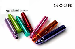 Wholesale Electroplating Battery - Colorful Battery Ego CE4 Electronic Cigarette Kits Ego-t 900 mAh electroplating Battery Electronic Battery eGo t Battery Flydream